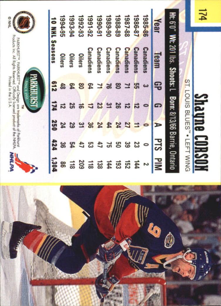 1995-96-Parkhurst-International-Hockey-Base-Singles-1-250-Pick-Your-Cards thumbnail 327