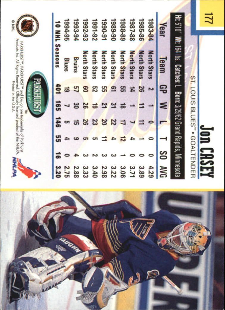 1995-96-Parkhurst-International-Hockey-Base-Singles-1-250-Pick-Your-Cards thumbnail 333