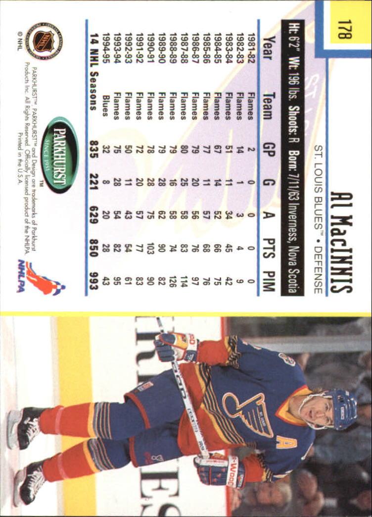 1995-96-Parkhurst-International-Hockey-Base-Singles-1-250-Pick-Your-Cards thumbnail 335