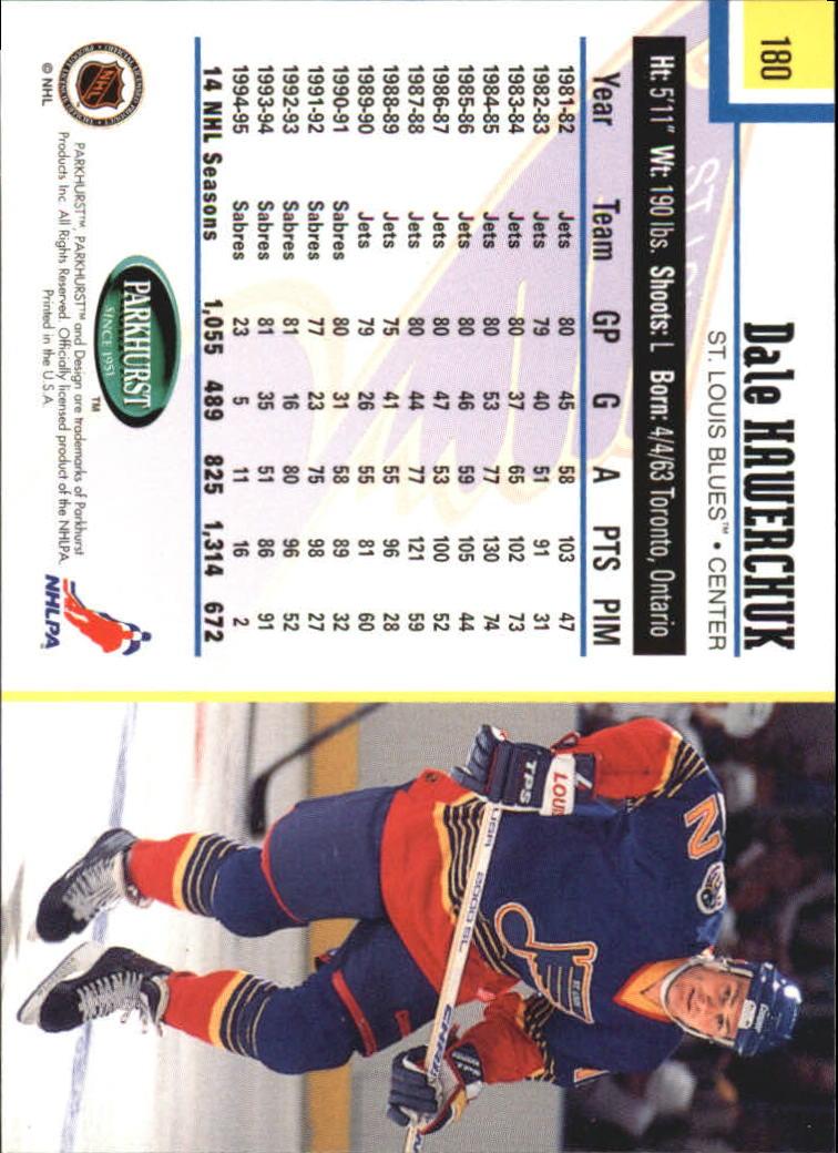 1995-96-Parkhurst-International-Hockey-Base-Singles-1-250-Pick-Your-Cards thumbnail 339