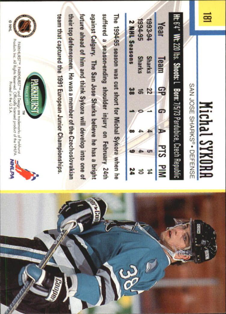 1995-96-Parkhurst-International-Hockey-Base-Singles-1-250-Pick-Your-Cards thumbnail 341