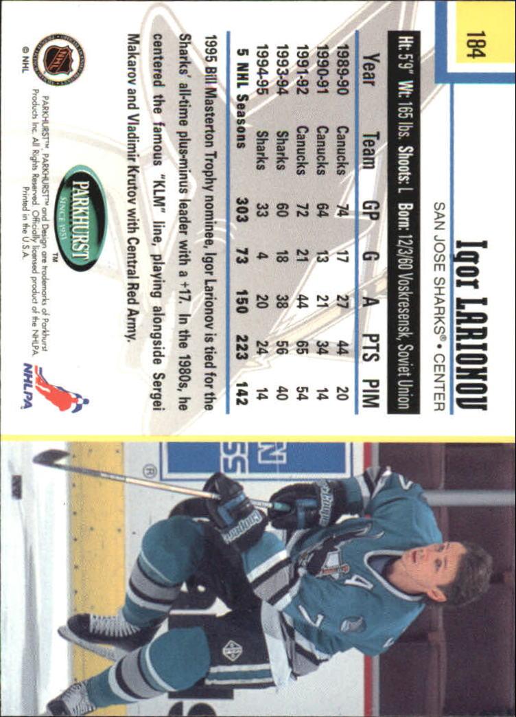1995-96-Parkhurst-International-Hockey-Base-Singles-1-250-Pick-Your-Cards thumbnail 347