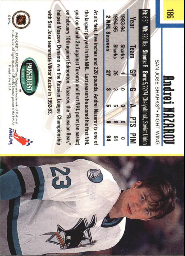1995-96-Parkhurst-International-Hockey-Base-Singles-1-250-Pick-Your-Cards thumbnail 351