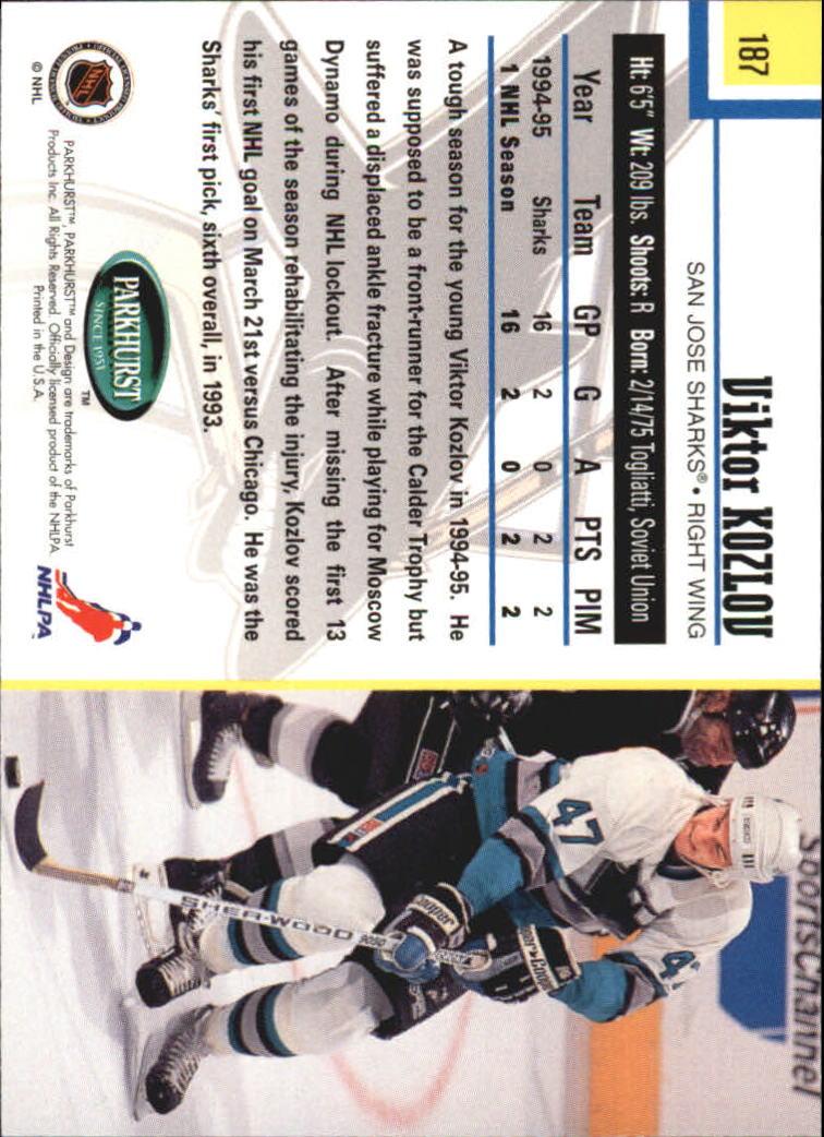 1995-96-Parkhurst-International-Hockey-Base-Singles-1-250-Pick-Your-Cards thumbnail 353