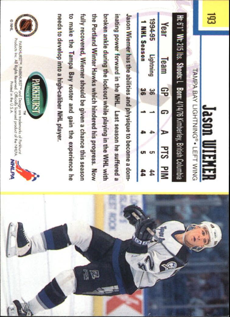 1995-96-Parkhurst-International-Hockey-Base-Singles-1-250-Pick-Your-Cards thumbnail 365