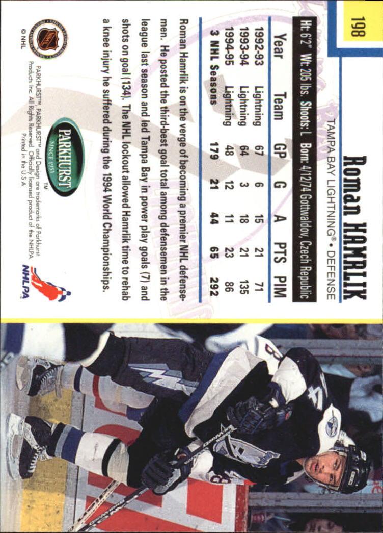1995-96-Parkhurst-International-Hockey-Base-Singles-1-250-Pick-Your-Cards thumbnail 375