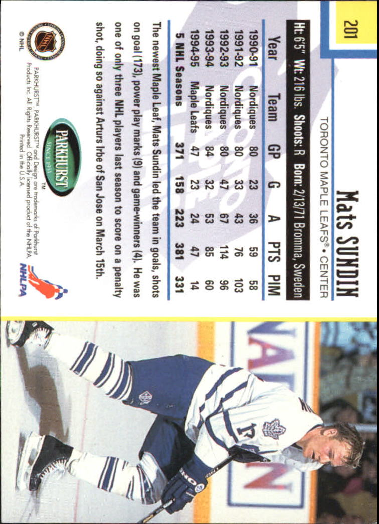 1995-96-Parkhurst-International-Hockey-Base-Singles-1-250-Pick-Your-Cards thumbnail 381