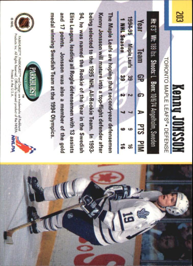 1995-96-Parkhurst-International-Hockey-Base-Singles-1-250-Pick-Your-Cards thumbnail 385