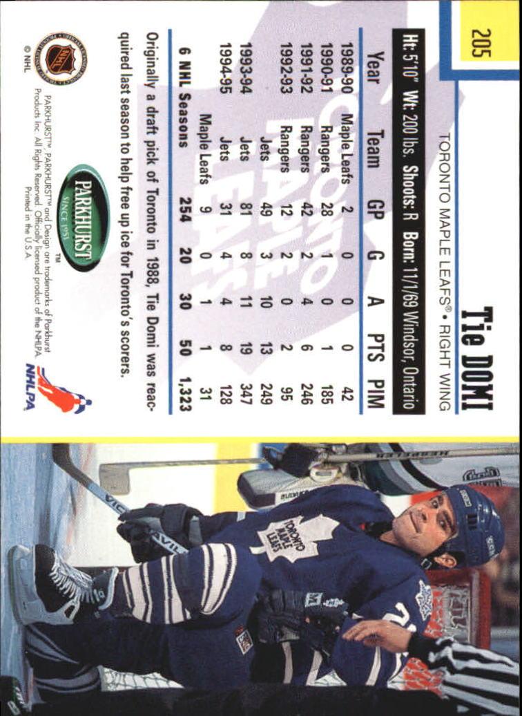 1995-96-Parkhurst-International-Hockey-Base-Singles-1-250-Pick-Your-Cards thumbnail 389