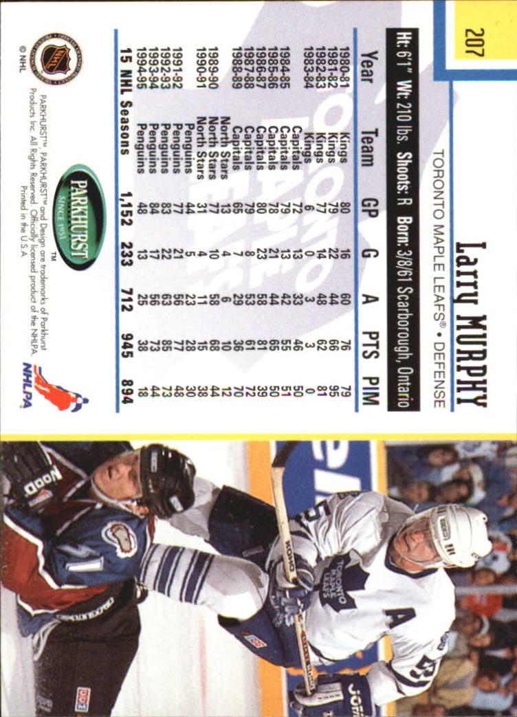 1995-96-Parkhurst-International-Hockey-Base-Singles-1-250-Pick-Your-Cards thumbnail 393