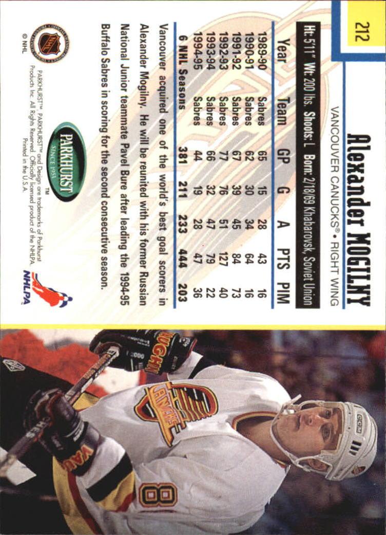 1995-96-Parkhurst-International-Hockey-Base-Singles-1-250-Pick-Your-Cards thumbnail 403