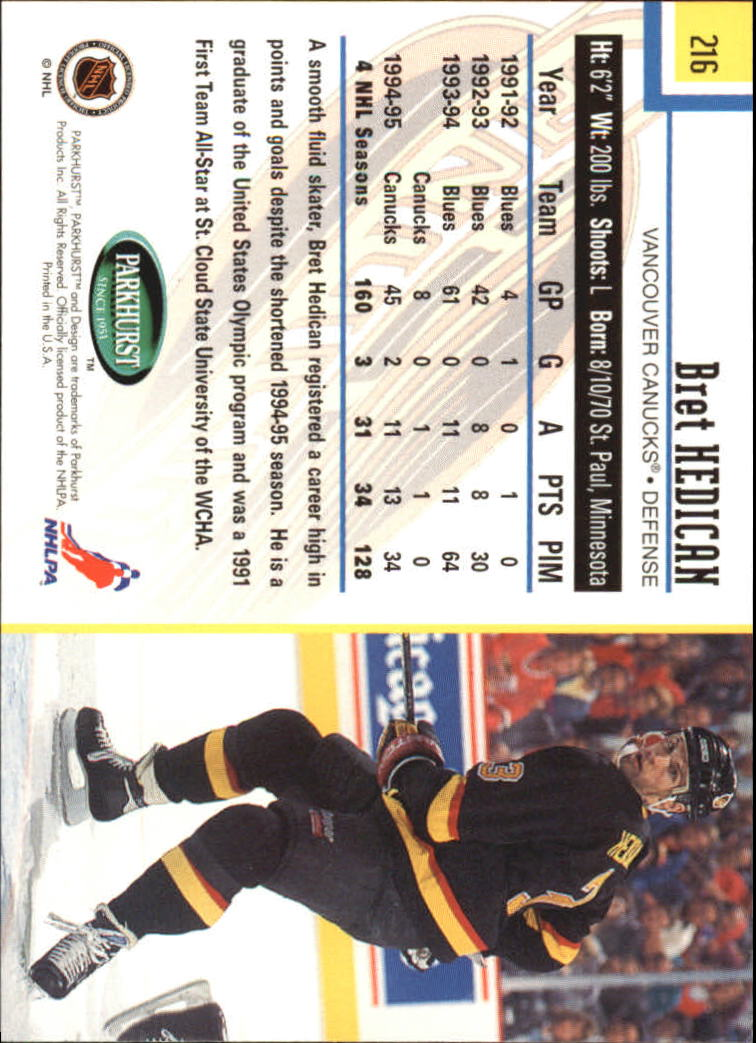 1995-96-Parkhurst-International-Hockey-Base-Singles-1-250-Pick-Your-Cards thumbnail 411