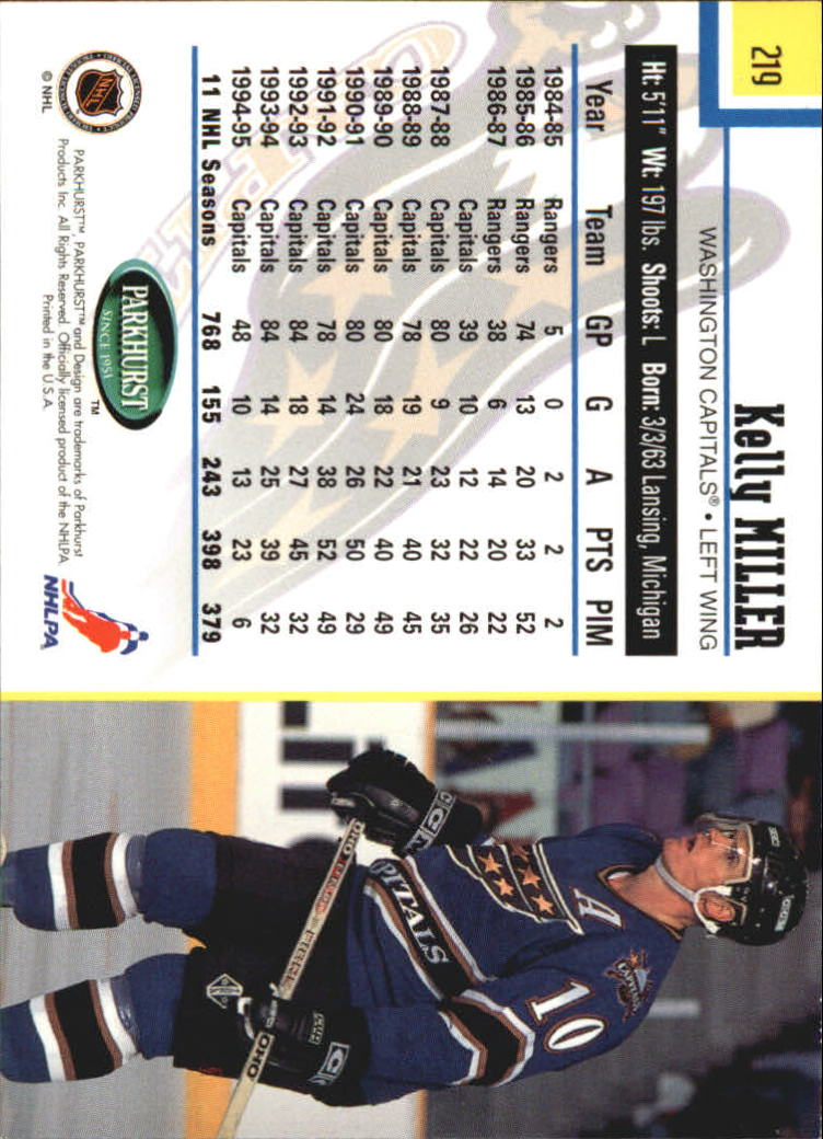 1995-96-Parkhurst-International-Hockey-Base-Singles-1-250-Pick-Your-Cards thumbnail 417