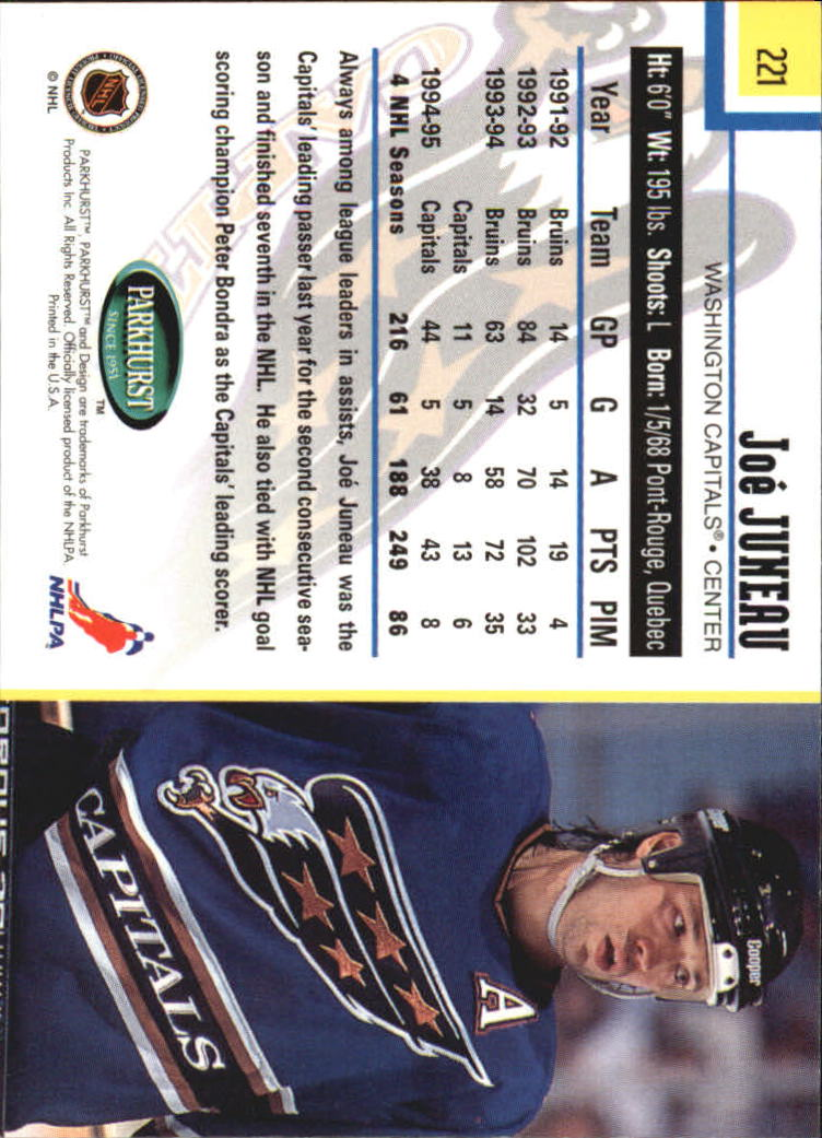 1995-96-Parkhurst-International-Hockey-Base-Singles-1-250-Pick-Your-Cards thumbnail 421