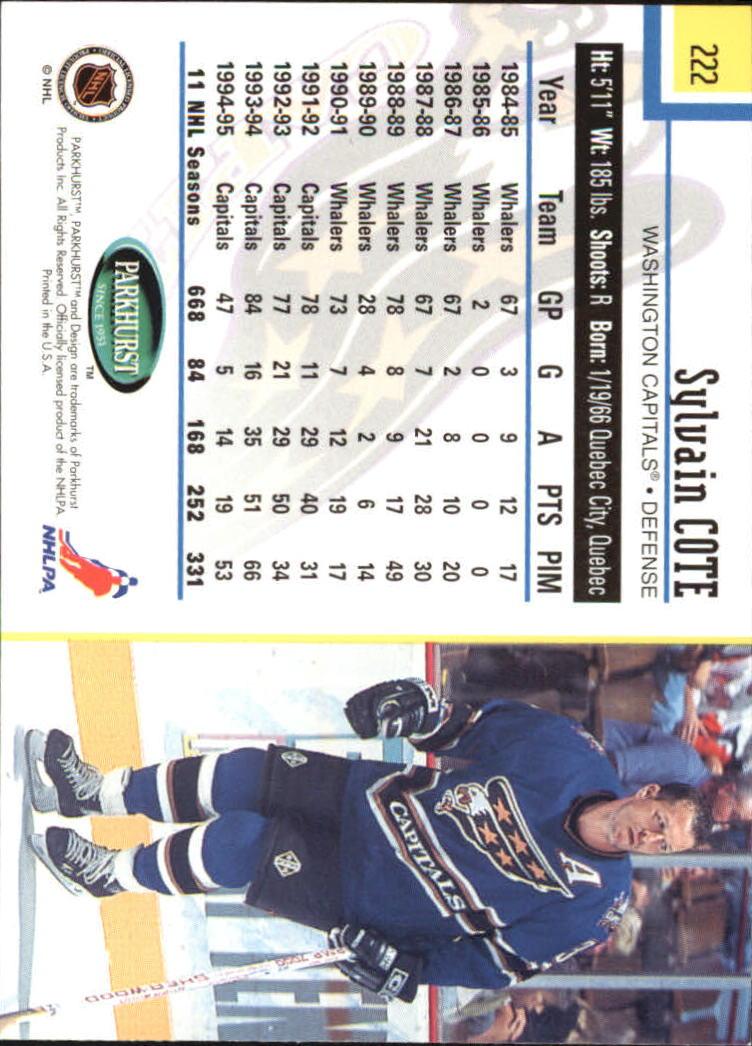 1995-96-Parkhurst-International-Hockey-Base-Singles-1-250-Pick-Your-Cards thumbnail 423