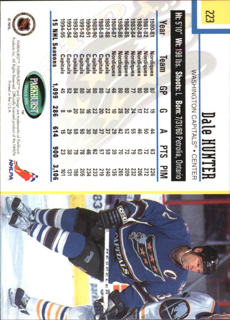 1995-96-Parkhurst-International-Hockey-Base-Singles-1-250-Pick-Your-Cards thumbnail 425
