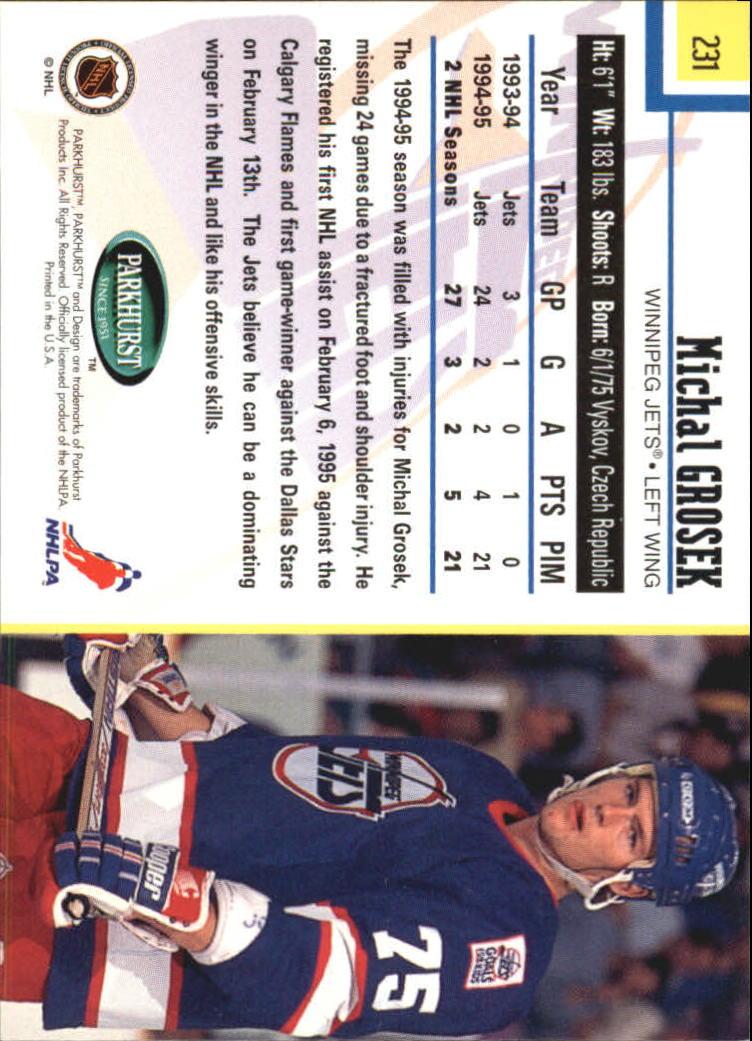 1995-96-Parkhurst-International-Hockey-Base-Singles-1-250-Pick-Your-Cards thumbnail 437