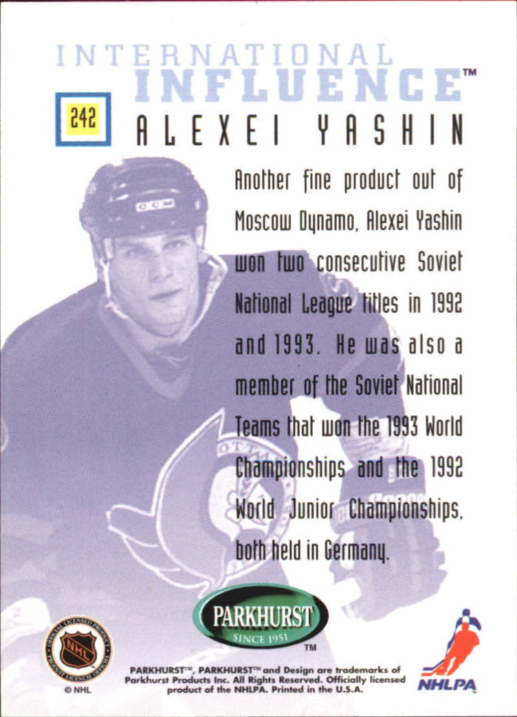 1995-96-Parkhurst-International-Hockey-Base-Singles-1-250-Pick-Your-Cards thumbnail 451