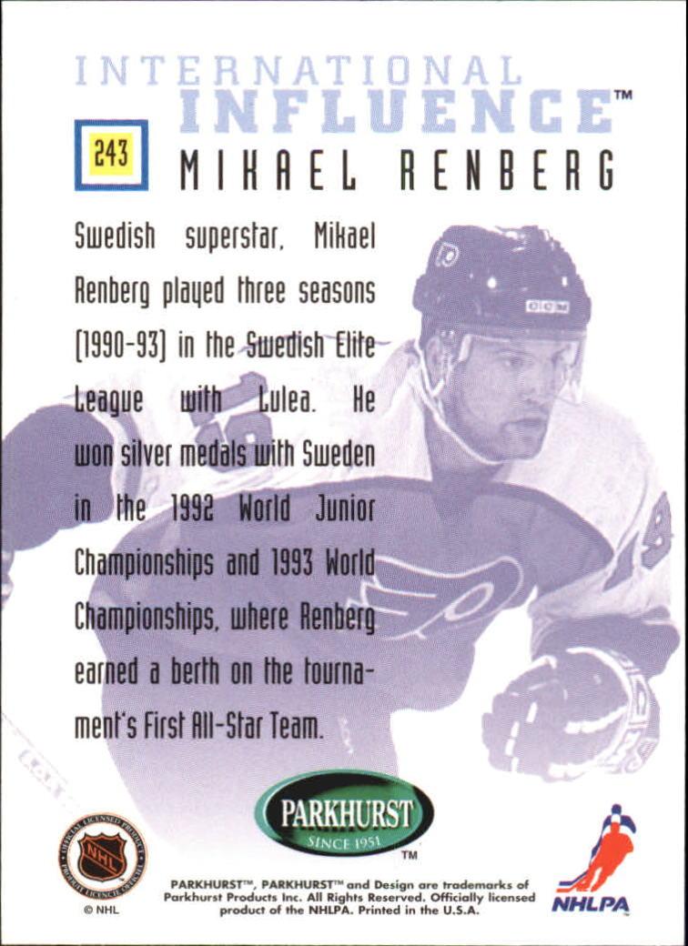 1995-96-Parkhurst-International-Hockey-Base-Singles-1-250-Pick-Your-Cards thumbnail 453