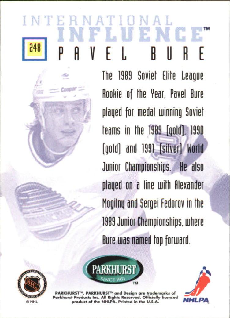 1995-96-Parkhurst-International-Hockey-Base-Singles-1-250-Pick-Your-Cards thumbnail 461