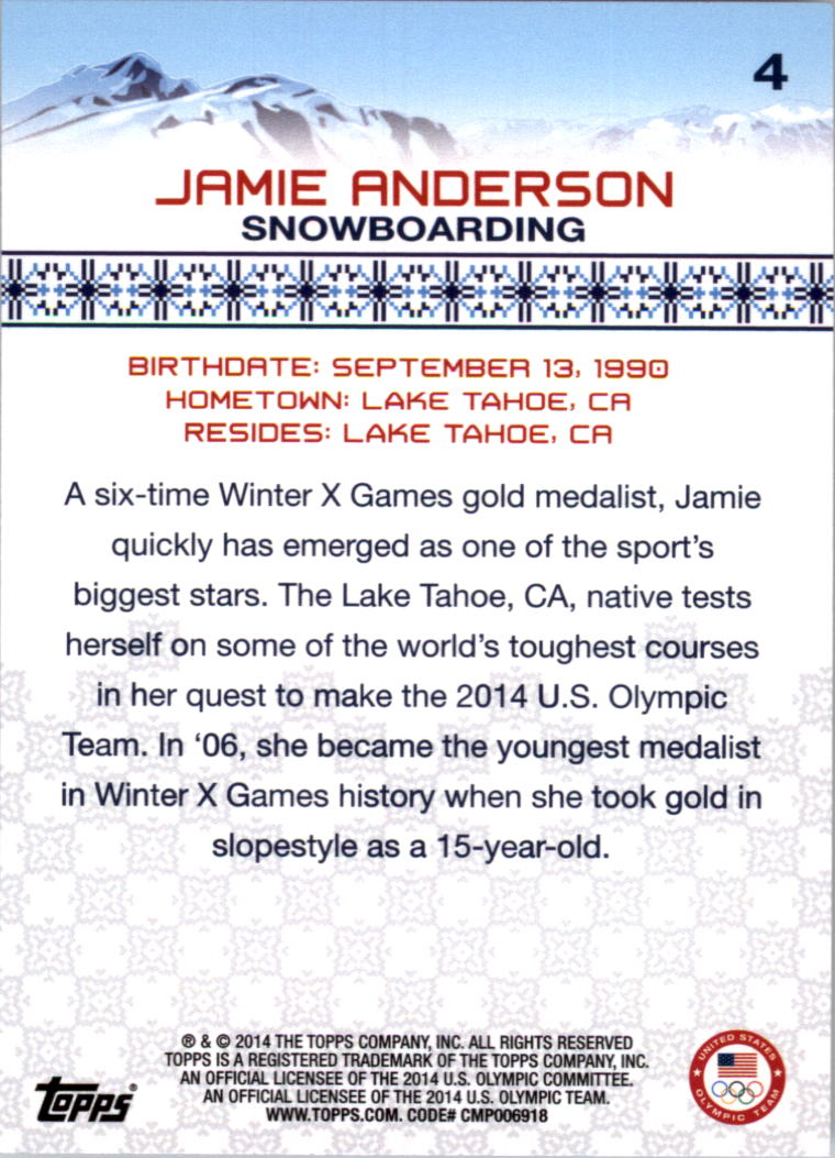 2014-Topps-U-S-Olympic-Team-Singles-Pick-Your-Cards thumbnail 7