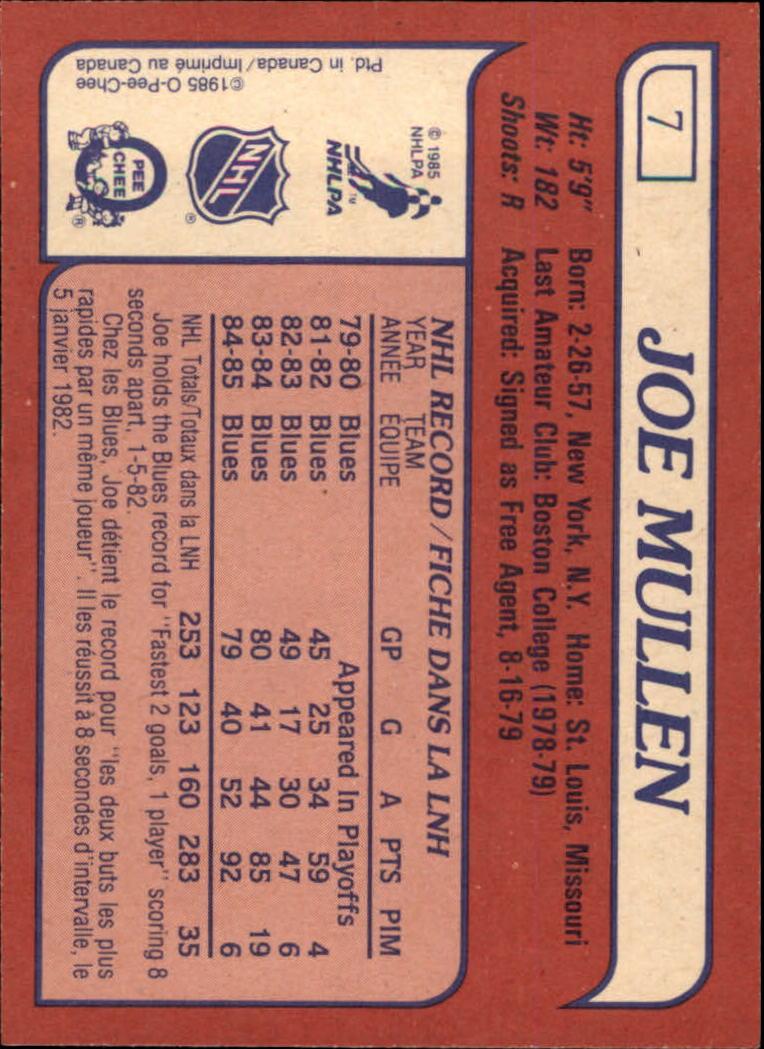 1985-86-Topps-Hockey-Base-Singles-Pick-Your-Cards thumbnail 5