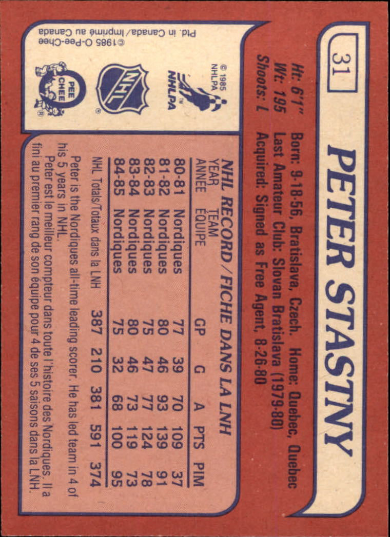 1985-86-Topps-Hockey-Base-Singles-Pick-Your-Cards thumbnail 29