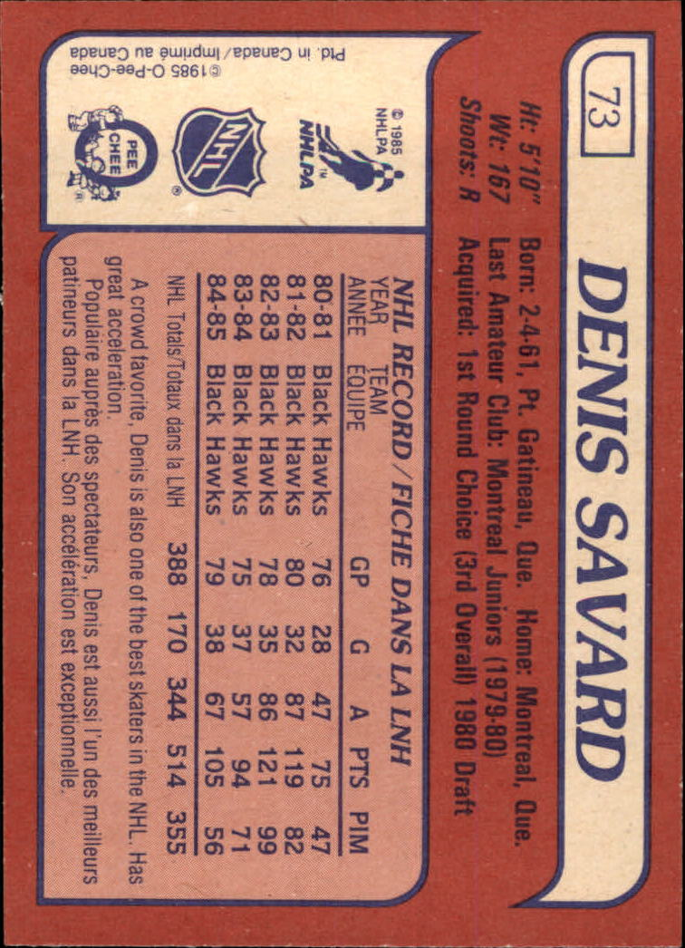 1985-86-Topps-Hockey-Base-Singles-Pick-Your-Cards thumbnail 69
