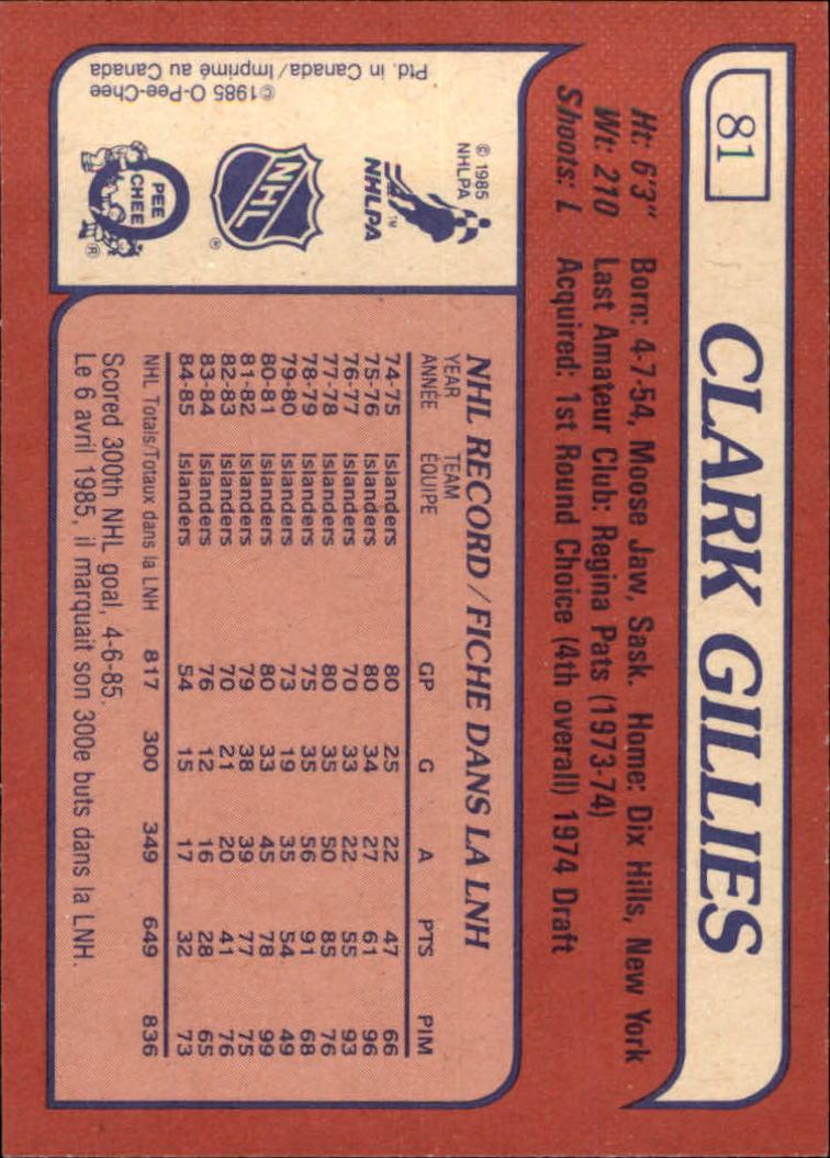 1985-86-Topps-Hockey-Base-Singles-Pick-Your-Cards thumbnail 75