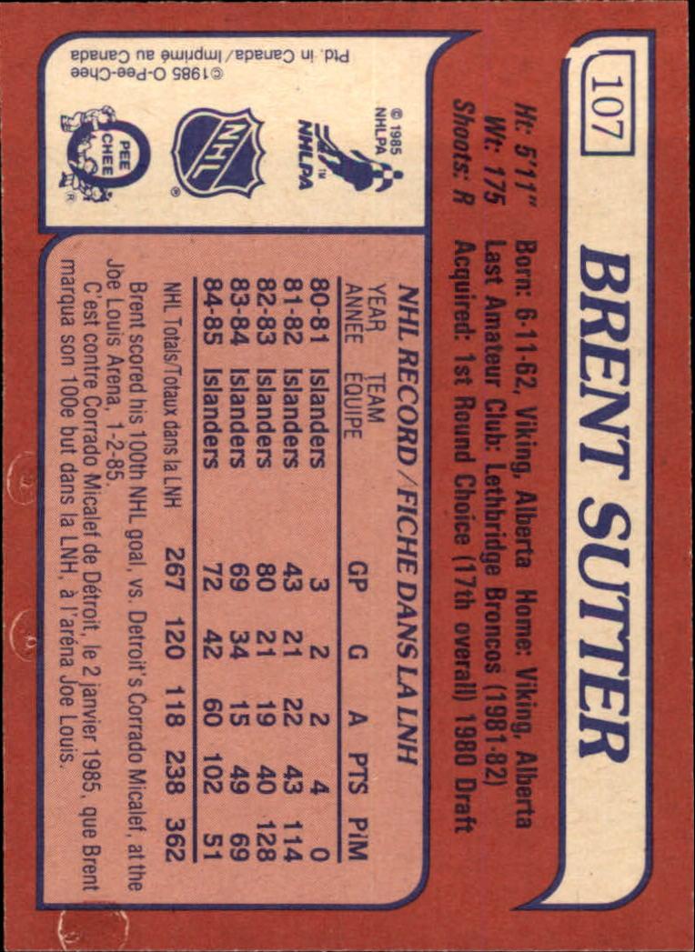 1985-86-Topps-Hockey-Base-Singles-Pick-Your-Cards thumbnail 101