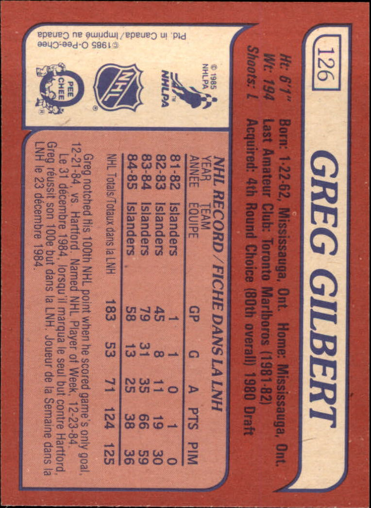 1985-86-Topps-Hockey-Base-Singles-Pick-Your-Cards thumbnail 113