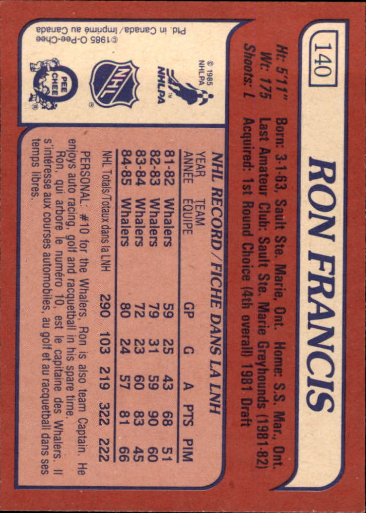 1985-86-Topps-Hockey-Base-Singles-Pick-Your-Cards thumbnail 123