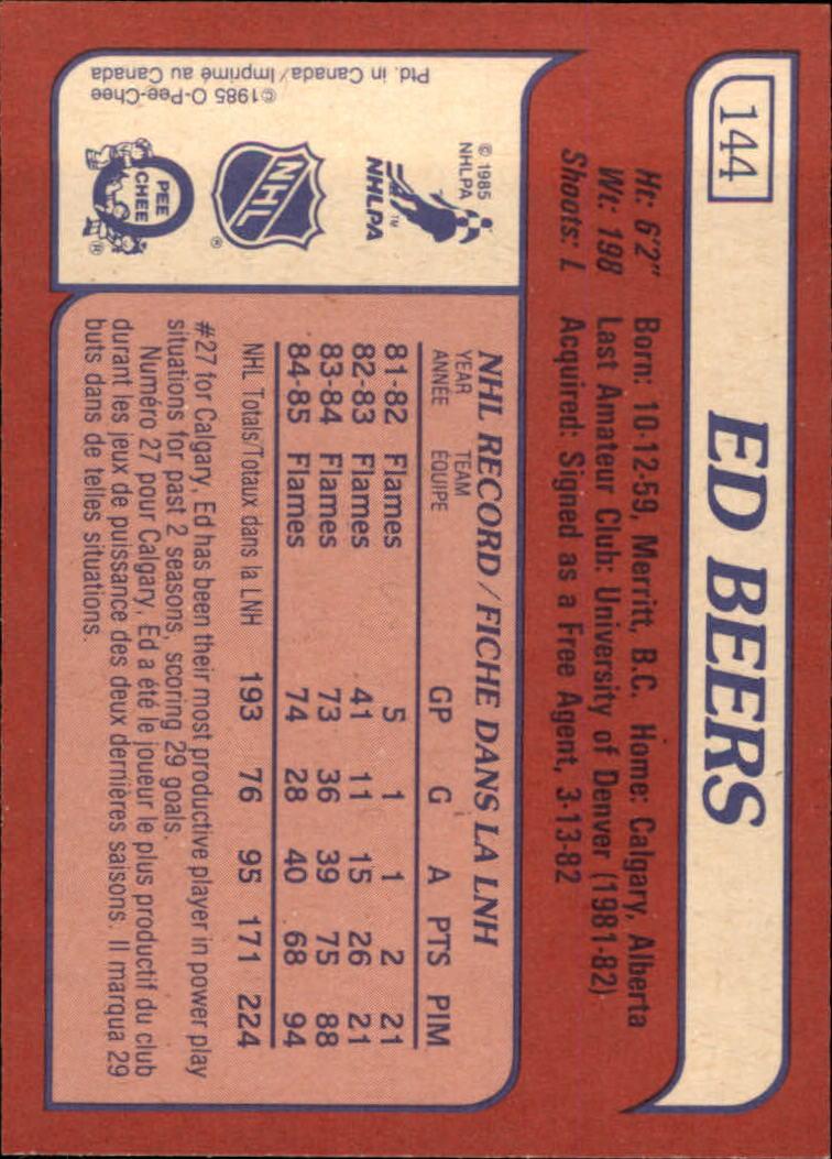1985-86-Topps-Hockey-Base-Singles-Pick-Your-Cards thumbnail 125