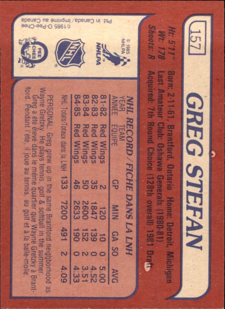 1985-86-Topps-Hockey-Base-Singles-Pick-Your-Cards thumbnail 135