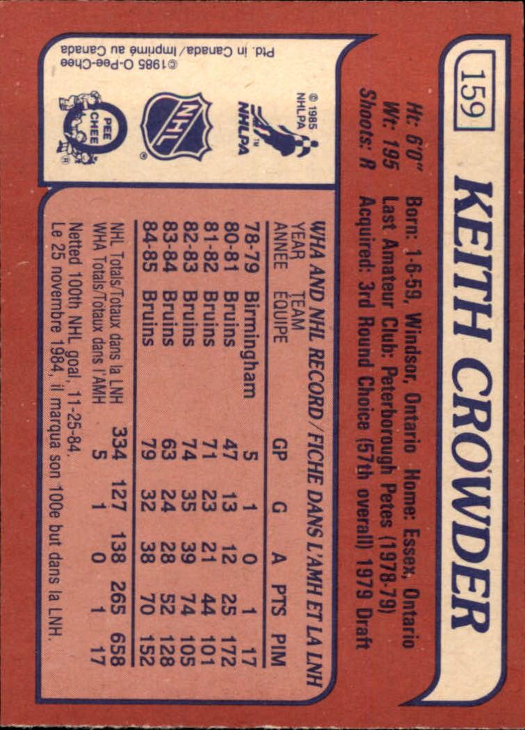 1985-86-Topps-Hockey-Base-Singles-Pick-Your-Cards thumbnail 137