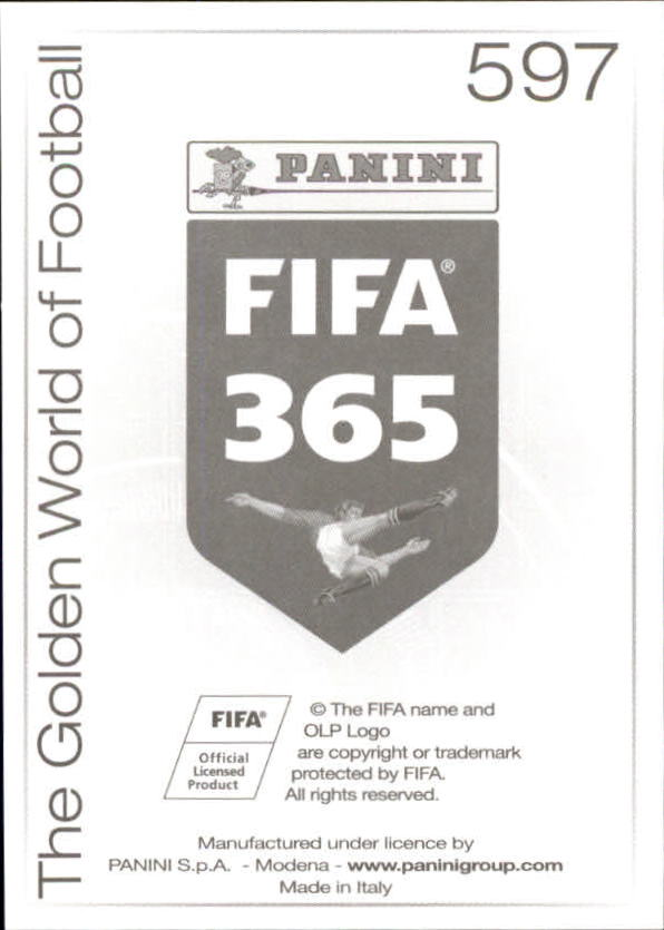 2015-16 Panini FIFA 365 Stickers #293-597 Pick Your Sticker Cards