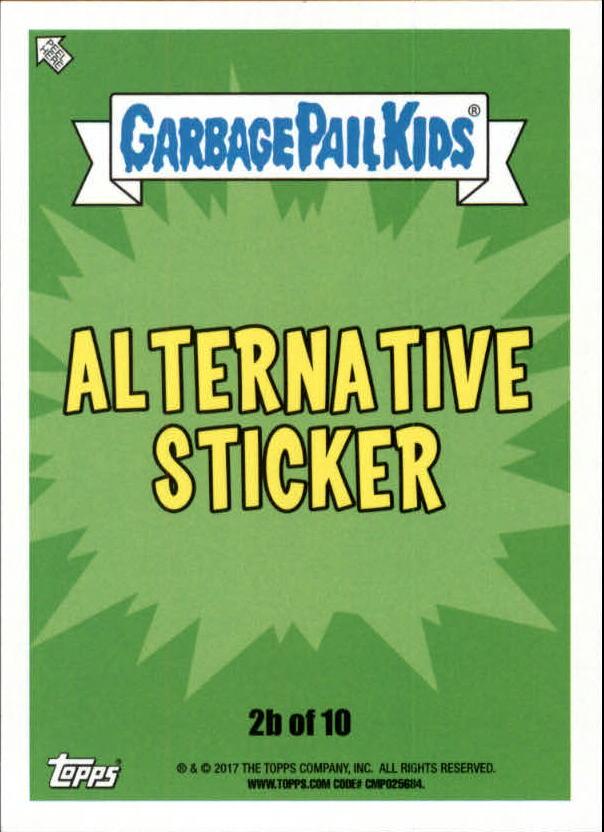 Pick Ur Cards 2017 Garbage Pail Kids Battle of the Bands Puke Parallel Singles