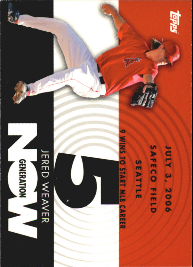 2007 Topps Baseball Generation Now Singles #182-461 Pick Your Cards